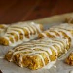 GFW: Gluten-Free Copycat Starbucks Pumpkin Scones, 2-Ingredient GF Flour Mix, Pumpkin 7-Layer Bars