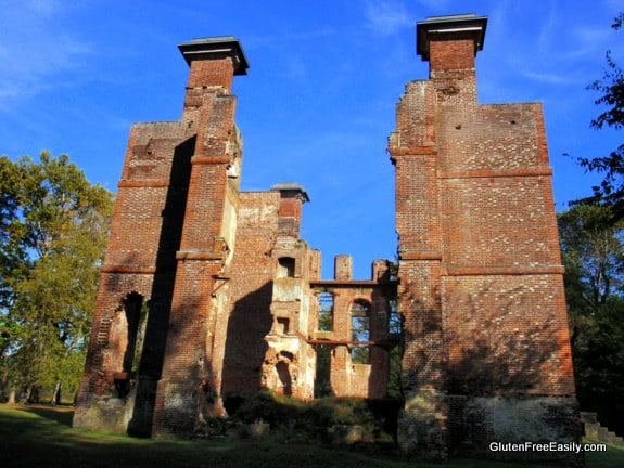 Rosewell Ruins Gloucester Virginia