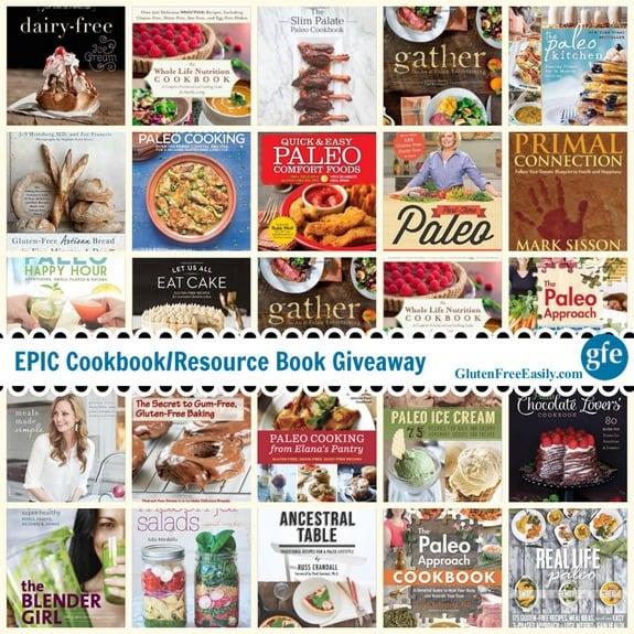 Epic Cookbook Giveaway GFE
