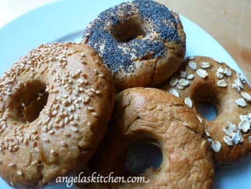 Gluten-Free Dairy-Free Bagel Assortment Angela's Kitchen