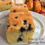 Gluten-Free Breakfast Blueberry Cornbread & More