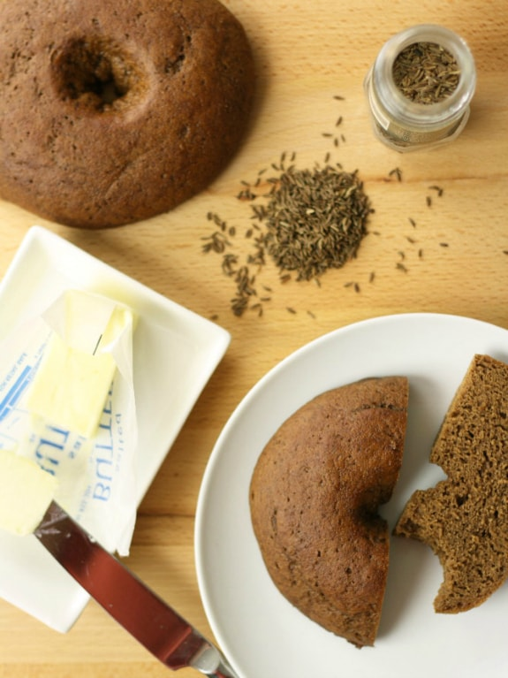 Gluten-Free Dairy-Free Pumpernickel Bagels No Gluten No Problem