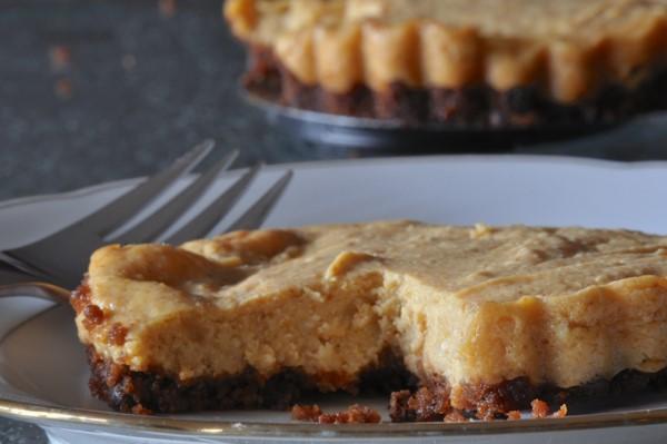 Gluten-Free Dairy-Free Vegan Pumpkin Cheesecake GF Jules