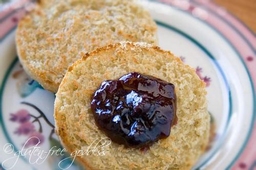 Gluten-Free English Muffins Gluten-Free Goddess