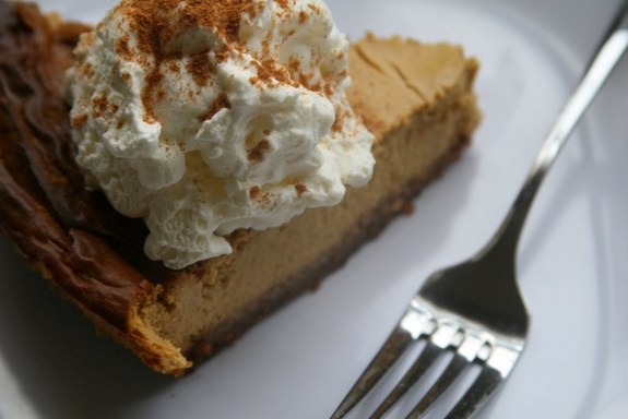 Gluten-Free Goat Cheese Pumpkin Cheesecake with Pecan Hazelnut Crust Life As a Plate