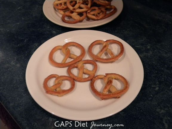 Gluten-Free Grain-Free Soft Pretzels GAPS Diet Journey
