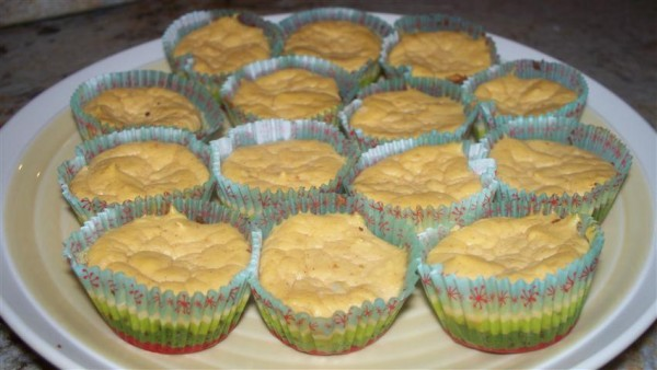 Gluten-Free Mini Pumpkin Cheesecake Bites Hannah's Healthy Heaven