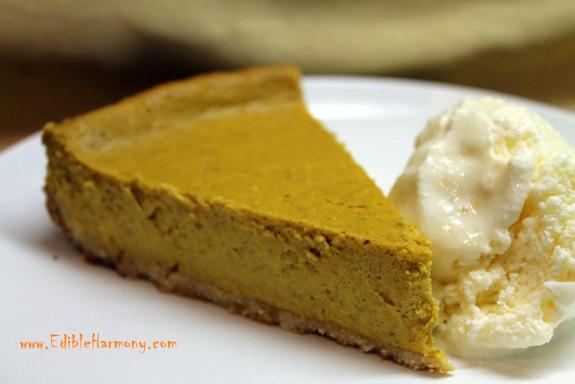 Gluten-Free Paleo Pumpkin Cheesecake Edible Harmony