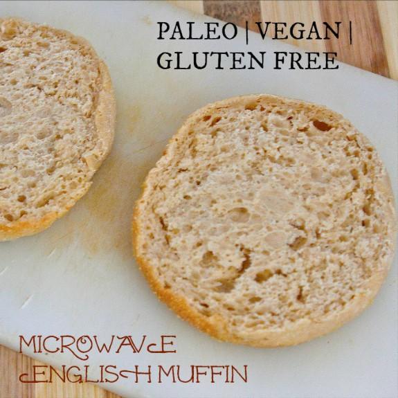 Gluten-Free Paleo Vegan Microwave English Muffin The Big Man's World