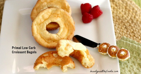 Gluten-Free Primal Low Carb Croissant Bagels Beauty and the Foodie