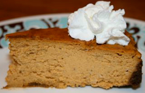 Gluten-Free Pumpkin Cheesecake Adventures of a Gluten-Free Mom