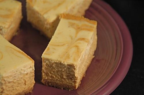 Gluten-Free Pumpkin Cheesecake Bars with Dairy-Free, Vegan Option