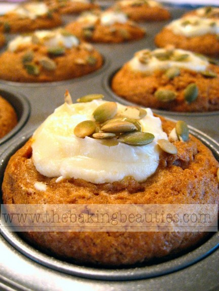 Gluten-Free Pumpkin Cheesecake Muffins The Baking Beauties