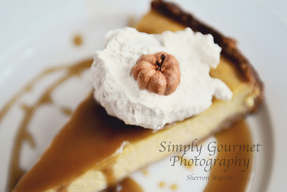 Gluten-Free Pumpkin Cheesecake from Simply Gourmet