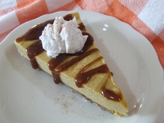 Gluten-Free Vegan Pumpkin Cheesecake Cassidy's Craveable Creations