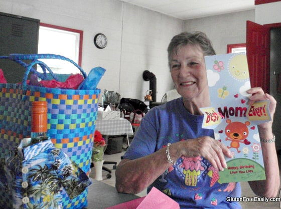 Mom Birthday 2014 Gluten Free Easily