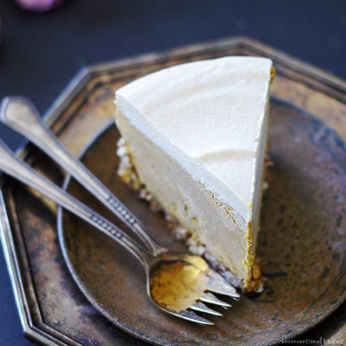 No-Bake Pumpkin Cheesecake (Gluten Free, Dairy Free, Egg Free, Vegan, Paleo)