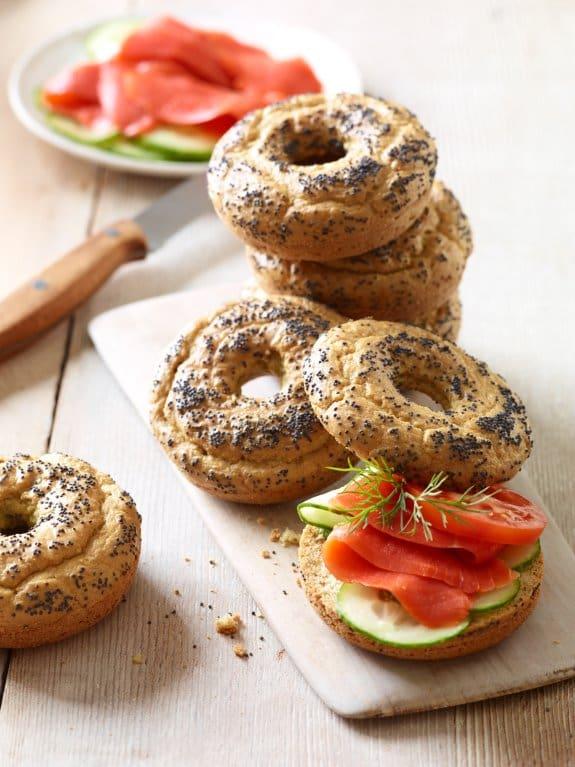 Gluten-Free Dairy-Free Paleo Bagels Elana's Pantry