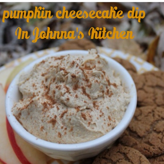 Gluten-Free Vegan Pumpkin Cheesecake Dip In Johnna's Kitchen