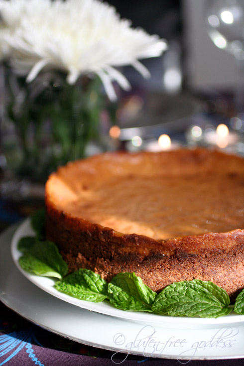 Pumpkin Cheesecake Gluten-Free Goddess