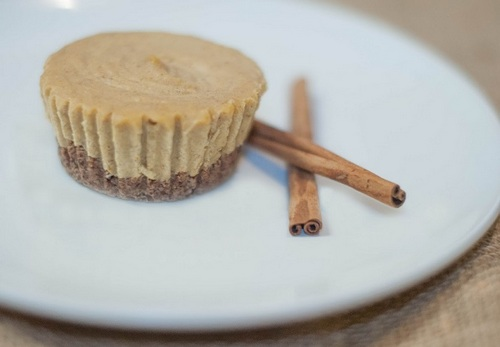 Mini Pumpkin Cheesecakes (Gluten Free, Paleo, AIP, Vegan)
