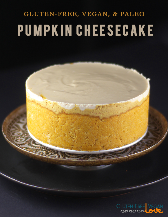 Gluten-Free Paleo Vegan Pumpkin Cheesecake Gluten-Free Vegan Love