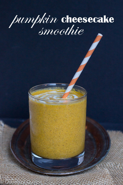 Gluten-Free Pumpkin Cheesecake Smoothie Simply Quinoa