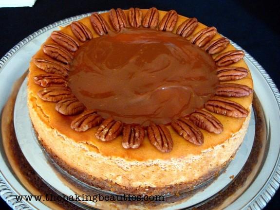 Gluten-Free Pumpkin Cheesecake The Baking Beauties