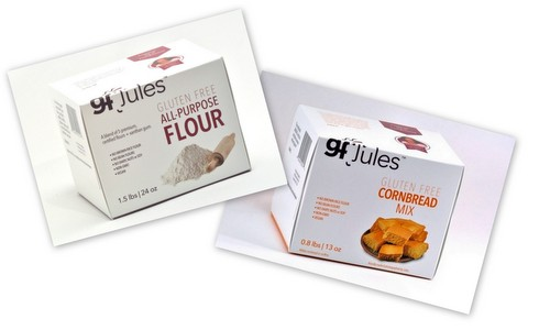 gfJules Flour Mix and Cornbread Mix