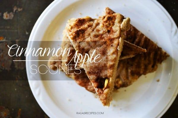 Cinnamon Apple Scones Raia's recipes