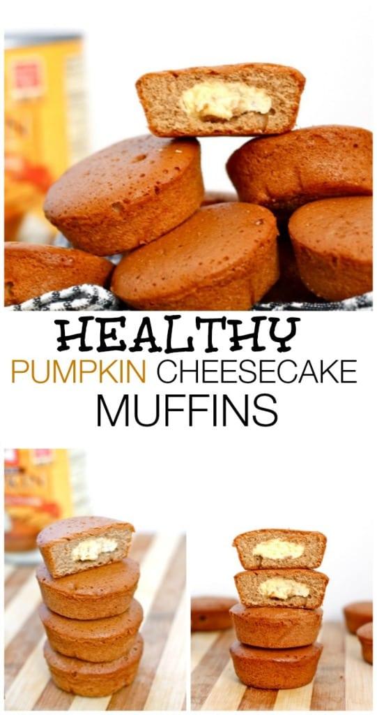 Healthy Pumpkin Cheesecake Muffins The Big Man's World