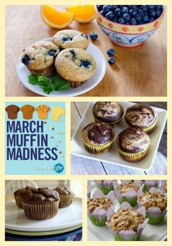 March Muffin Madness Gluten-Free Muffins Gluten Free Easily