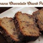 Banana Chocolate Chunk Pound Cake (Paleo)