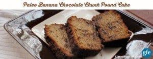 Paleo Gluten-Free Banana Chocolate Chunk Pound Cake Gluten Free Easily