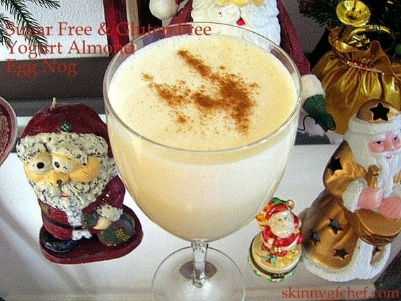 Yogurt Almond Egg Nog Skinny GF Chef