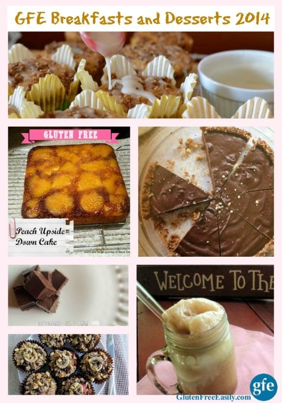Gluten-Free Breakfasts Desserts GFE 2014