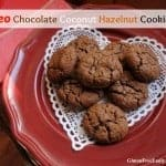 Chocolate Coconut Hazelnut Cookies (Paleo)