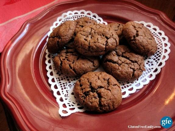 Gluten-Free Paleo Chocolate Coconut Hazelnut Cookies GFE