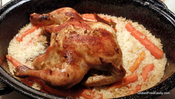 Baked Sriracha Ginger Cumin Chicken