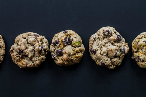 Gluten-Free Chocolate Chip Cookies with Pistachios Edible Perspective