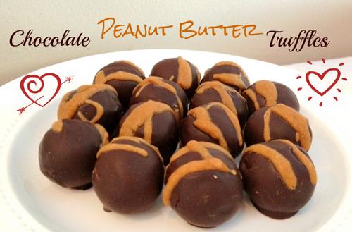 Gluten-Free Chocolate Peanut Butter Truffles Hannah's Healthy Heaven