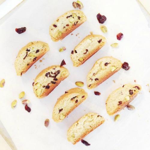 Gluten-Free Cranberry Pistachio Biscotti Paleo Parents