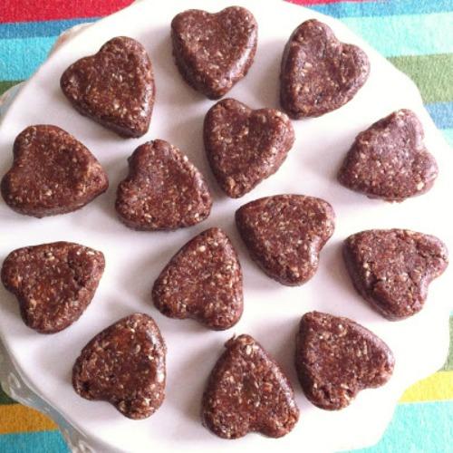 Gluten Free German Chocolate Bites Chacha's Gluten-Free Kitchen