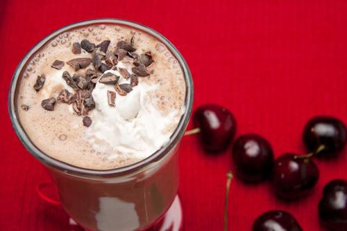Gluten-Free Hot Chocolate Float Healthful Pursuit