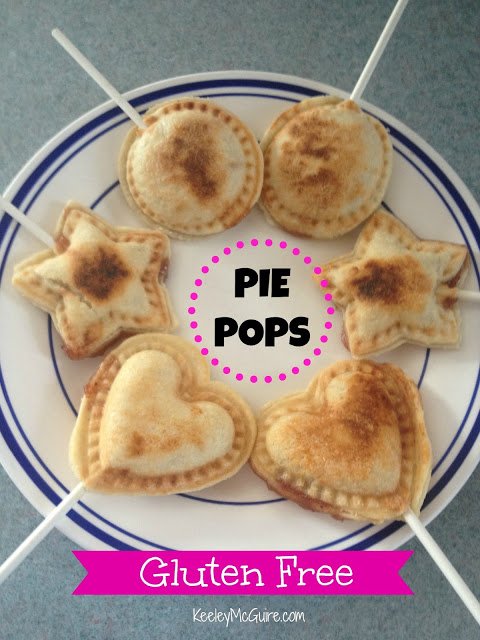 Gluten Free Pie Pops Recipe Keeley McGuire
