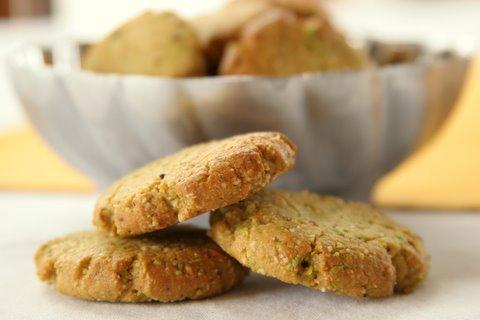 Gluten-Free Pistachio Biscotti Buttons Daily Bites