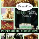 Pistachios, pistachios, pistachios! Save enough from the bag to make these treats! Gluten-Free Pistachio Desserts of Every Description
