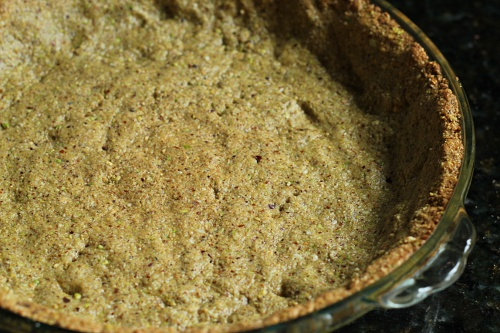 Gluten-Free Pistachio Pie Crust Wheat Free Meat Free