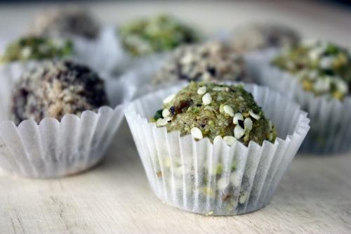 Gluten-Free Pistachio Sesame Truffles Tasty Eats At Home
