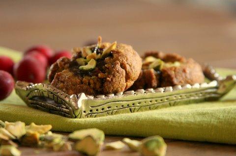 Gluten-Free Pistachio Thumbprint Cookies Daily Bites